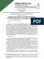 MTT - Decreto 41 que modifica DS 24 del MTT que extiende vigencia certificados Revisión Técnica y Verificación Emisiones 01.07.2020.pdf