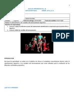 Guia de aprendizaje # 16 - Educacion Fisica (10-6 y 11-6)