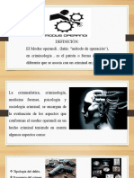 presentacion modus operandi psicologia
