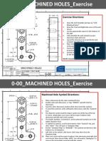 Machined Holes & Threads Practice Exercise EX