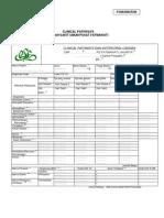 Dody Firmanda 2011 - Komite Medis 06- Form Clinical Pathway