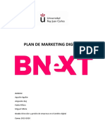 Plan de Marketing Digital Bnext redifinido