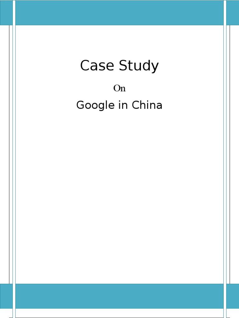 environmental case studies in china