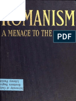 Romanism, A Menace to the Nation