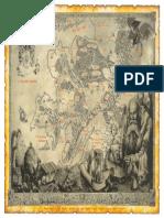 Mappa del Vecchio Mondo Heroquest e Warhammer