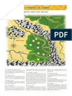 Mappa della Foresta di Loren di Heroquest e Warhammer