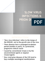Slow Virus Infections & Prion Diseases