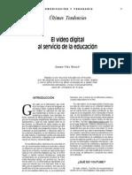 El vídeo digital al servicio de la educación