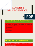 INTRODUCTION TO PROPERTY MANAGEMENT-LATEST
