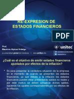 4.2.  Re-expresión de Estados Financieros