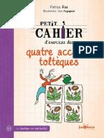 Petit cahier d'exercices des quatre accords toltèques (French Edition).pdf