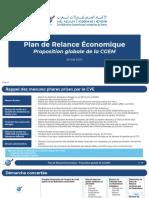 Plan Relance Économique CGEM Global