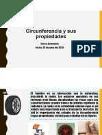 propiedades de la circunferencia