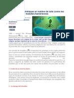 Directives prophétiques en matière de lutte contre les maladies bactériennes