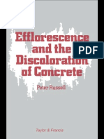 Efflorescence and the Discoloration of Concrete (1983)