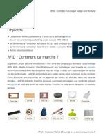 RFID _ Contrôle d'accès par badge avec Arduino