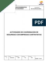 (rpc) actividades de coordinación de seguridad con empresas contratistas
