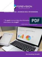Advanced Excel for Managers