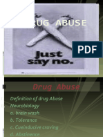 DRUG ABUSE Power Point
