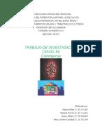 Informe estadistico sobre el coranavirus