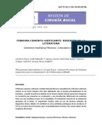 Artículo IMESAP fibroma cemento osificante