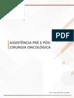 assistencia pre e pós onco
