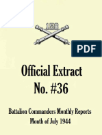 158th Field Artillery Extract No. 36
