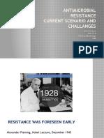 AMR - Current scenario and Challanges