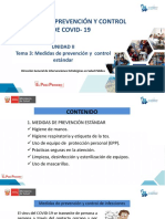 Tema 3 - Medidas de prevención estándar