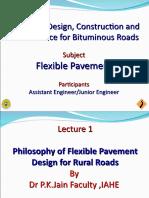 1. P K Jain Pavement design philosophy