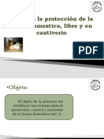 PRESENTACION- LEY ANIMAL