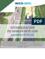 Propuesta Técnica Mejormiento de sub rasante con geosinteticos