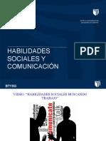 PPT HABILIDAES SOCIALES Y COMUNICACIÓN