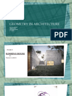 GEOMETRY IN ARCHITECTURE 111