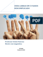 APRENDA LIBRAS EM 5 PASSOS - Revisado outubro  de 2019 - versão 4