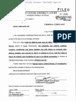 Cecily Anne Aguilar Criminal Complaint