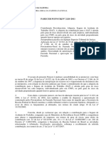 PARECER PGFN-CRJ No 2120-2011