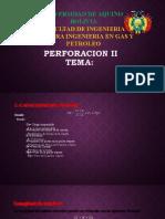PERFORACION II DIAPOSITIVA PARTE MECANICA