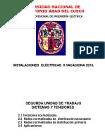 SEGUNDA UNIDAD VACACIONAL 2016