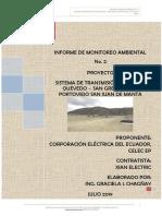6.1 INFORME DE MONITOREO AMBIENTAL