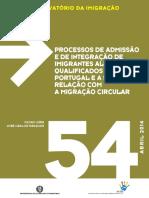 Marques e Gois_2014_Processos de admissão e de integração de imigrantes altamente qualificados  e sua relação com a migração circular