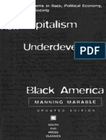 (South End Press Classics) Manning Marable - How Capitalism Underdeveloped Black America_ Problems in Race, Political Economy, and Society-South End Press
