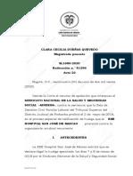Sentencia SL1680 de 2020 Huelga Imputable Al Patrono