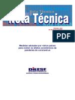 Nota técnica dieese