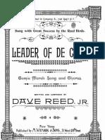 Leader of De Co. - Dave Reed Jr.