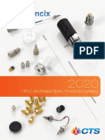 2020 Sciencix CTS HPLC and Mass Spec. Catalog