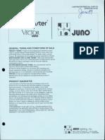 Juno Lighting Price Book Trac-Master & Vector 10-1987