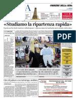 Corriere della Sera Roma 15 Aprile 2020