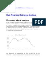 El mercado laboral mexicano