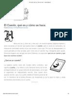 El Cuento, qué es y cómo se hace. - Idunn Editorial
